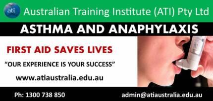 (Brisbane) Asthma & Anaphylaxis Course!