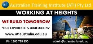 Brisbane Working at Heights Training! Brisbane City Brisbane North West Preview