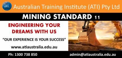Mining Standard 11 Course