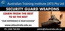 Brisbane - Security Guards Weapons Course Brisbane City Brisbane North West Preview