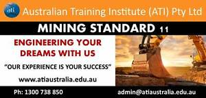 Mining Standard 11 Course Sandgate Brisbane North East Preview