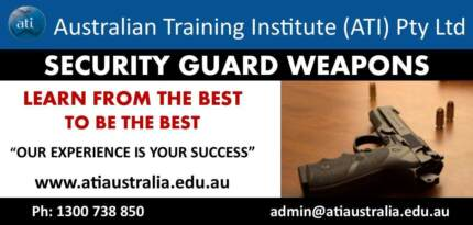 (Brisbane) Security Guards Weapons Course