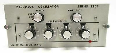 California Instruments 850t Precision Oscillator Module 45 Hz To 999.9hz