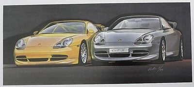 Porsche 2000 Design Calendar and CD, Number 2042 of 7800