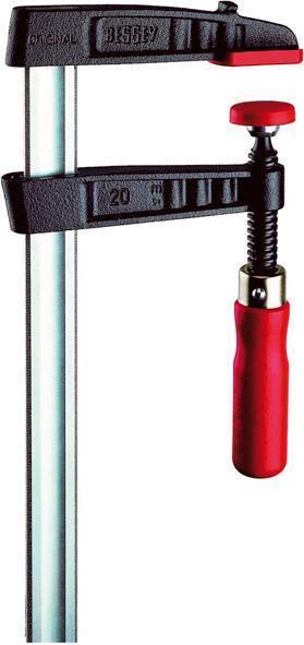 Piher Bessey Schraubzwinge  300 bis 1000 mm  900 Kg Spannkraft Stahlbauzwinge He