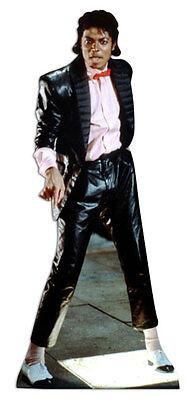 Michael Jackson LIFESIZE CARDBOARD CUTOUT STANDEE STANDUP king of pop billiejean