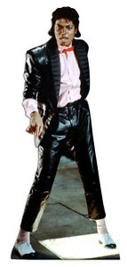 Michael Jackson LIFESIZE CARDBOARD CUTOUT STANDEE STANDUP king of pop billiejean