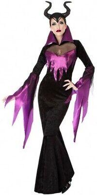Déguisement Femme REINE MALEFIQUE Sorcière XL 44 Cinéma NEUF - Kostüm Sorciere Halloween