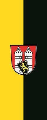 Hof Flagge (Fahne Flagge Hof im Hochformat verschiedene Größen)
