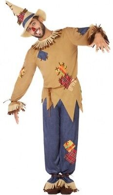 costume Man SCARECROW XL suit Drawing Cartoon Magicien Oz NEW Cheap