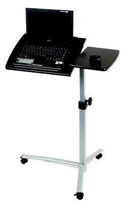 Laptoptisch verstellbar rollbar - Computer Tisch Notebooktisch Laptop Stehpult