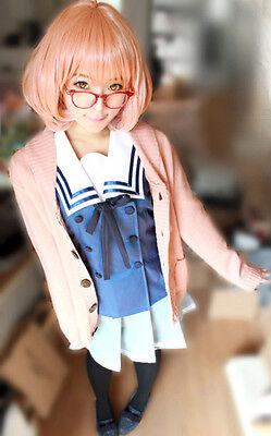 Beyond the Boundary Mirai Kuriyama Cosplay Costume Kostüm Uniform Pullover - Mirai Kuriyama Kostüm