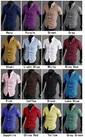 Dealman short sleeve dress shirt