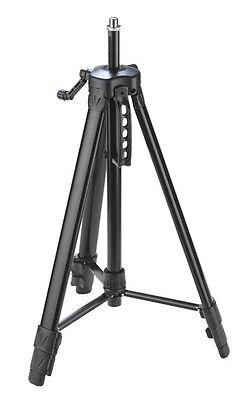 KWB Stativ für Kreuzlaser bis 153 cm höhe, inklusive Adapter für Fotokameras