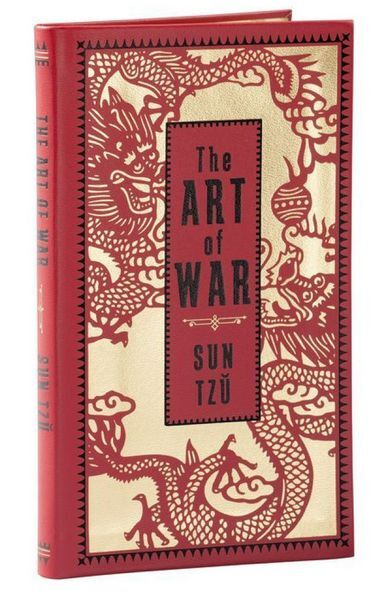 """THE ART OF WAR by SUN TZU (Pocket Size ~ 7""""x4"""") ~ BRAND NEW ~ Leatherbound ~"""