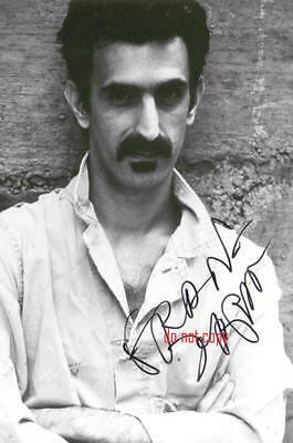 Frank Zappa Repro-Autogramm signed Preprint