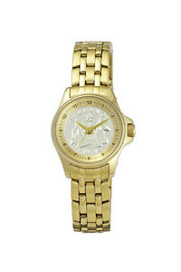 Ladies Lifestyle CoinWatch - Gold - Australian Sixpence coin dial