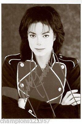 Michael Jackson ++Autogramm++ ++POP Legende ++