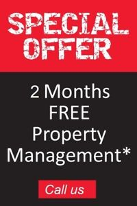 2 Months free property management fee in Vancouver