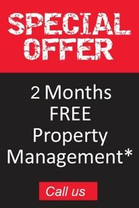 special offer! 2 Months FREE property management fee