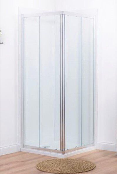 BNIB Mira Elevate Corner Entry Shower Enclosure. 800mm x 800mm RRP over £320