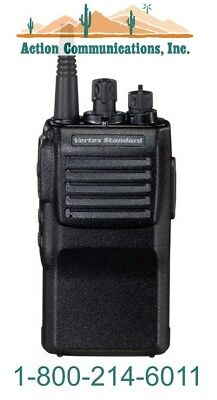 New Vertexstandard Vx-414-2-5 Vhf 150-162 Mhz 5 Watt 32 Ch Two Way Radio
