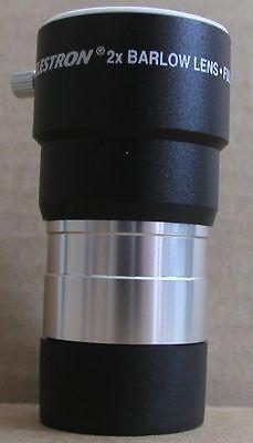 NEW Celestron 2x  telescope eyepiece barlow lens