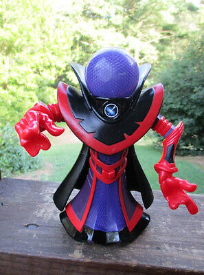 "Mattel 2006 Light Up Professor Darkness Black Hole7"" Planet Heroes Action Figure"