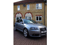 2007 56 AUDI A3 S LINE 2.0 TDI SPORTBACK 5 DOOR - 144K / 4 OWNERS./ FULL SERVICE