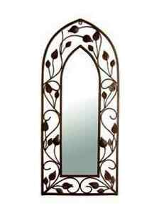 Gothic Garden Arch Mirror Vintage Antique Style Home Indoor Outdoor Wall Art NEW