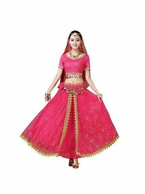 Parents Baby Halloween Costumes (Women's Belly Dance Costume Parent-Child Chiffon Dress Halloween Wear)