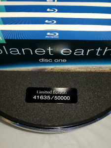Planet Earth:  (Numbered Limited Edition) Globe Blu-ray