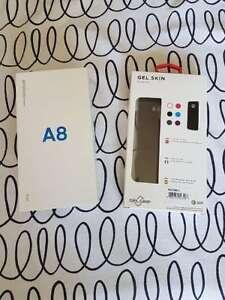 Samsung Galaxy A8 Brand New in Box w/ Gel Case