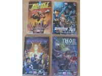 New Marvel Comics Hardcovers for sale including Thor, Guardians of the Galaxy & Rocket Racoon