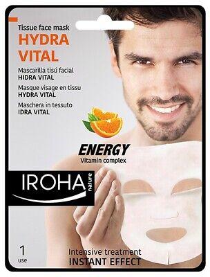 iroha Men's mask with vitamins