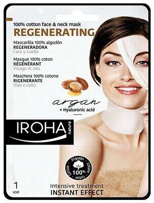 iroha Regenerating tissue mask with ARGAN