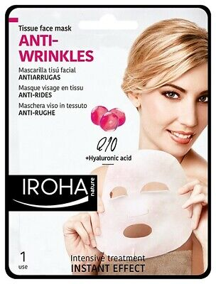 iroha Smooth face mask with Q10