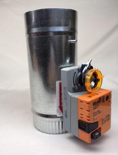 SD 3  inch Belimo 3 wire Motorized 24v round zone control damper