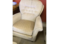 Cream / beige armchair - very comfortable