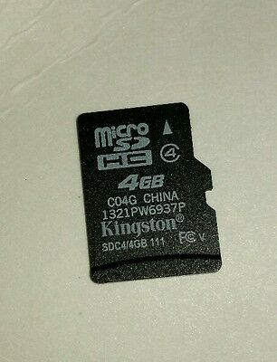 Kingston 4 GB MicroSD Card - OEM - (K4GBMC:17326)