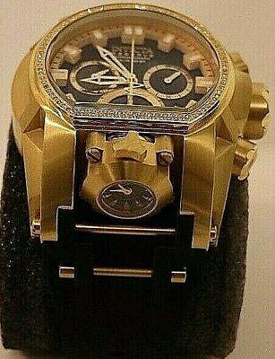 Invicta Mens Watch Bolt Zeus model # 29863 Swiss Movement/Diamonds
