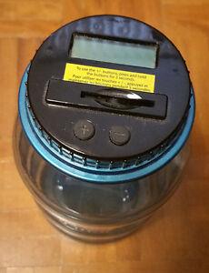 Digital Coin Counting Jar