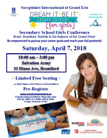 Dream It *Be It Secondary School Girls Conference
