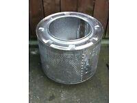 Log burner / washing machine tub