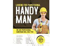 Builder, tiling, laminate flooring, stairs laminate&covering, carpentery, carpet fitting, etc.
