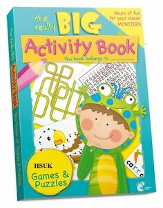 ACTIVITY BOOK 300 PAGES A4 JUMBO CHILDREN KIDS COLOURING PUZZLE WORDSEARCH SS531