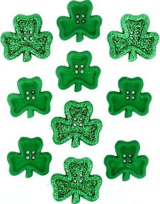 Jesse James - Dress It Up - St. Patrick's Day - Irish Charm ~ Large Shamrocks ~  - St Patrick's Day Dress
