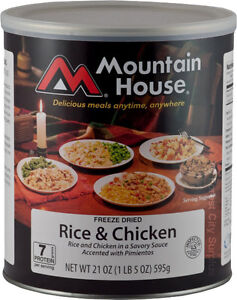 New - FREEZE DRIED MOUNTAIN HOUSE SURVIVAL FOOD  Large Selection