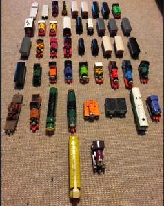 Various Vintage ERTL Diecast Thomas the Tank Engine Trains