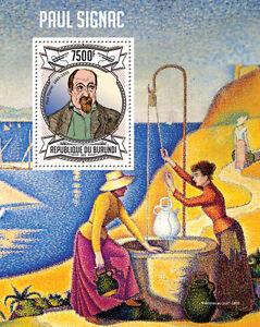 Paul Signac paintings s/s Burundi Sc.1320 MNH #BUR13120b - <span itemprop='availableAtOrFrom'>Olsztyn, Polska</span> - Paul Signac paintings s/s Burundi Sc.1320 MNH #BUR13120b - Olsztyn, Polska